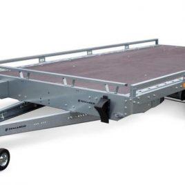 TEMA LAWETA CAR PLATFORM 4021 400×216 3000kg koła 13″