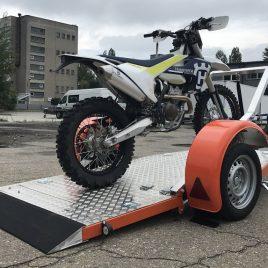 WIOLA Enduro 1 pod motocykl 230×114 niehamowana platforma