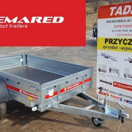 TEMARED PRO 2012 MOCNA PRZYCZEPA PRO2012 2,00m x 1,25m