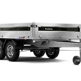 BRENDERUP 4310 STB 2000kg 309x169x35 2 osie, koła pod spodem